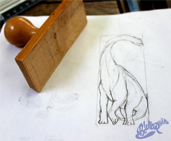 dessinbrachiosaure